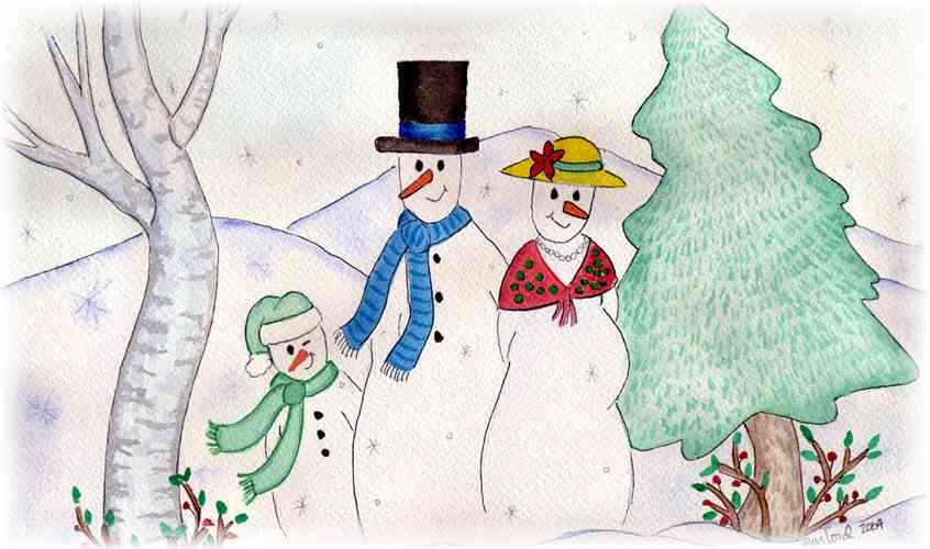 Animation Christmas Card