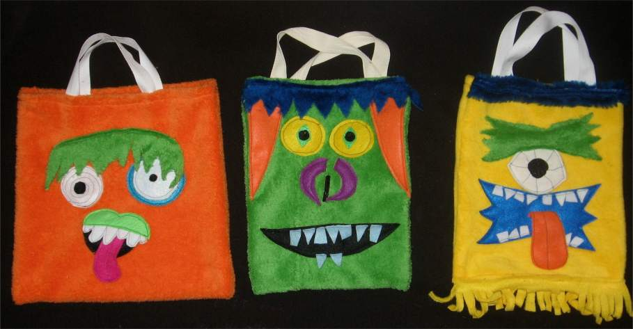 Creative Kismet » Blog Archive » Monster Bags :  indie bags monsters diything