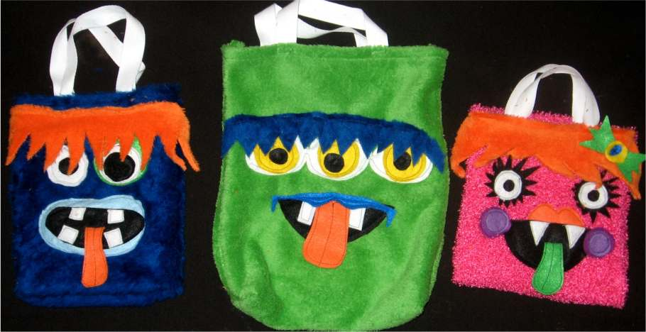 Creative Kismet » Blog Archive » Monster Bags